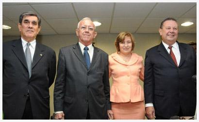 Solenidade; João Byron de Figueirêdo Frota; Edite Bringel Olinda Alencar