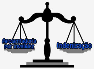 aposentadoria; invalidez; desobrigação; indenização