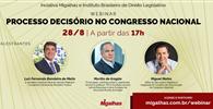WEBINAR - Processo decisório no Congresso Nacional