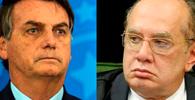 """""""Invadir hospitais é crime, estimular também"""", diz Gilmar Mendes sobre fala de Bolsonaro"""
