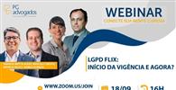 Pires & Gonçalves - Advogados Associados reúne especialistas em live especial sobre a entrada em vigor da LGPD
