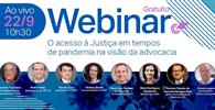 AASP e Fundação Arcadas apresentam resultados da pesquisa sobre o acesso à Justiça durante o período de isolamento social