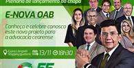 """CE: Edson Santana realiza plenária de lançamento da chapa 55 – """"E-nova OAB"""""""