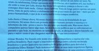 """Sócrates envia carta a Lula: """"O Brasil é com S de Silva. Lula da Silva"""""""