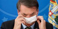 Bolsonaro libera uso de máscara em templos religiosos, mas obriga uso em espaços públicos