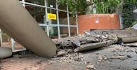 """Queda de marquise que matou estudante foi por """"condições estruturais precárias"""", aponta laudo"""
