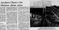 Na década de 70, a promessa era de riqueza com a mineração