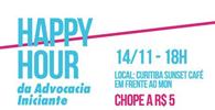 """PR: Chapa 22 - """"Algo Novo na OAB"""" promove happy hour com advocacia iniciante"""