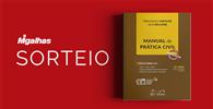 """Resultado do sorteio da obra """"Manual de Prática Civil"""""""