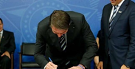 Bolsonaro sanciona a lei da liberdade econômica