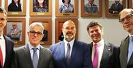 """Ministro Salomão homenageia Luiz Fux: """"Trilhou toda a carreira com grande eficiência e humildade"""""""