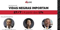 "WEBINAR - ""Vidas negras importam"""