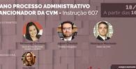 WEBINAR - 1º ano do Processo Administrativo Sancionador da CVM - Instrução 607