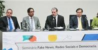 Ministro Toffoli destaca importância do combate às notícias fraudulentas em seminário na Câmara