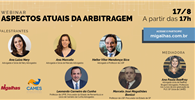 WEBINAR - Aspectos atuais da Arbitragem