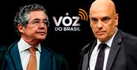 """Marco Aurélio e Moraes divergem sobre horário impositivo do programa """"A voz do Brasil""""; Toffoli pede vista"""