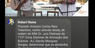 """""""Livemício"""": Pré-candidato à prefeitura de Búzios é notificado ao vivo por campanha irregular"""